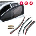 New Window Visor Rain Guard Vent Sun Shade Wind Deflectors For Toyota Camry 2012-2016