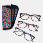 New With Bag Unbreakable Best Reading Glasses