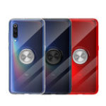 New Bakeey Ultra-thin With Ring Holder Anti-fingerprint Soft TPU Protective Case For Xiaomi Mi 9 SE