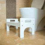 New Bathroom Anti Constipation For Kids Foldable Plastic Footstool Squatting Stool Toilet dropshipping