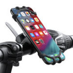 New Floveme Bike Bicycle Handlebar Clamp Phone Holder 360º Rotation For 4.7-6.5 Inch Smart Phone iPhone XS Max Samsung Galaxy S10