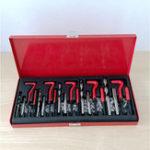 New 131PCS Thread Tapping Repair Tool M5X0.8X6.7mm, M6X1.0X10.8mm,M8X1.25X10.8mm, M10X1.5X13.5mm, M12X1.75X16.3mm Hand Tap Drill Set Hand Tools