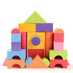 New 25Pcs Soft Lightweight EVA Foam Building Blocks DIY Model Construction Toy Kids Educational Toys