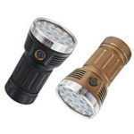 New Astrolux MF01S 18x SST20 15000LM 616M Anduril UI 18650 Flashlight High CRI Super Bright Searching Flashlight
