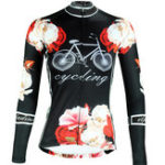 New Women Cycling Clothing Jersey Sportswear Long Sleeve Bicycle Racing Clothing Shirts