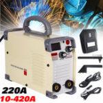 New MMA-420 220V Inverter ARC Stick Welding Machine IGBT Clamp Welder with Thrust