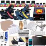 New Tattoo Machine Kit  2 Top Tattoo Machine Body Art Tools