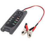 New 12V Battery Tester With 6 LED Alternator Check Analyzer Lead Diagnostic Tool