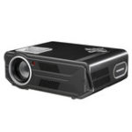 New Rigal RD-818 3500 Lumens LED Projector 1280*800P 1500:1 Contrast Ratio Home Theater Video Projector-Basic Version