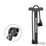 New ROCKBROS A320 120PSI Bicycle Air Pump Aluminum Alloy Bike Mini Pump for Balloon Football Basketball Bicycle