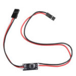 New 2.7A 1S Dual Way Micro Brush ESC 3.3-6V Winch Reversing with Overheat Out of Control Protection for DIY RC Model