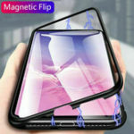New Bakeey 360° Magnetic Adsorption Metal Tempered Glass Flip Protective Case for Xiaomi Mi 9T/ Mi9T Pro / Xiaomi Redmi K20/ Xiaomi Redmi K20 PRO