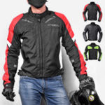 New GHOST RACING Motorcycle Jacket Removable Inner Motocross With Protective Gear Armor Men Waterproof Windproof