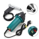 New 10A 1080W Plastic Hot Air Welding Plastic Welder Repair Tool 2942Pa 40°C-550°C
