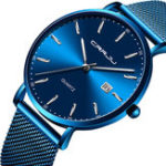 New CRRJU 2161 Business Style Men Quartz Watch