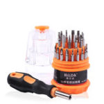 New HILDA 31 in 1 Magnetic Screwdrivers Set High-hardness Disassemble Mobile Phone Repair tool DIY Multi-used Screw Driver Kit