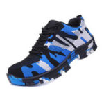 New NIS Men's Hiking Camping Work Shoes Anti-Smashing Hard Steel Shoes Keep Warm Waterproof Sneakers