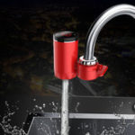 New 3 Seconds Instant Heat ELectric Water Faucet Temperature Display 3000W Water Heater Free Installation Electric Hot / Cold Water Faucet