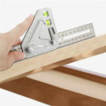 New Angle Ruler A Revolutionary Carpentry Tool-Better Tool Multi-function Measuring