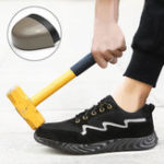 New Steel Toe Lightweight Puncture Proof Sole Breathable Shoes