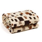 New Electric Heated Blankets of Grid Model  with Timing Function Plus Size Bed  LED Screen