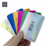 New Ten Anti Rfid Wallet Blocking Reader Lock Bank Protector Card Holder Id Bank Card Case Protection Metal Credit NFC Holder Aluminium 6×9.3cm