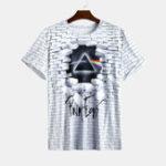 New Mens Fashion 3d Printed O Neck Short Sleeve Casual T-Shirts