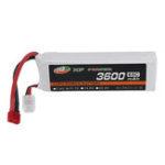 New XF POWER 11.1V 3600mAh 65C 3S Lipo Battery T Plug for RC Car
