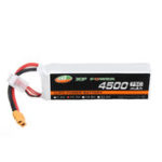 New XF POWER 11.1V 4500mAh 75C 3S Lipo Battery XT60 Plug for Volantax Phoenix V2 759-2