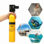 New Oxygen Cylinder Diving Mini Scuba Cylinder Oxygen Tank Underwater Breath Equipment