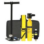 New DIDEEP Oxygen Cylinder Mini Scuba Diving Equipment 0.5L Air Tank Oxygen Tank Set Kit