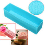 New Rose Toast Silicone Soap Mold Loaf Cake Baking Bread Tools DIY Chocolate Mould
