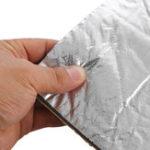 New 100cm x 140cm Fire Waterproof  Resistant Car Sound Insulation Cotton Proofing Foam Deadening Mat Sun Protection