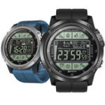 New Zeblaze VIBE 3S Absolute Toughness Real-time Weather Display Goals Setting Message Reminder 1.24inch FSTN Full View Display Outdoor Sport Smart Watch