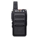 New 2pcs Retevis A9160 Black RT619 Mini Walkie-Talkie Station Scrambler Ultrathin Fuselage