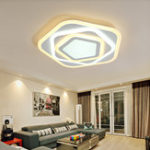 New 36W LED Ceiling Lamp With Remote Controller Indoor Light AC220V