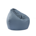 New 80x90cm Portable Lounge Bean Bag Cover 420D Oxford Waterproof Lazy Sofa Chair Dust Protector