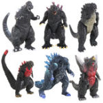 New  6Pcs Anime Action Figure Toy Dinosaur Movie Monster Doll Kids Plastic Toys Gift