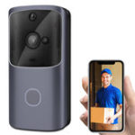 New Wireless WiFi Smartphone Remote Video Camera Doorbell 2-way Audio Home Security