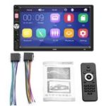 New HD 7 inch Touch Screen Car MP5 Audio Video MP4 TF Card U Disk AUX bluetooth MP3 Player Radio