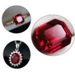 New 13x18mm 26.35CT Pigeon Blood Red Ruby Rectangle Cut AAAA+ Loose Gemstone Decorations
