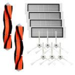 New 12PCS Parts Main Brush Side Brush HEPA Filters for Xiaomi Roborock Xiaowa Vacuum Cleaner Replacements Kit