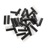 New 30PCS 7Pin Resistor Network Array 4.7K ohm  A472J 4.7KR DIP Exclusion Network Resistor
