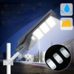 New 40W 80W 120W Solar Street Light PIR Motion Sensor LED Outdoor Garden P ath Wall Lamp