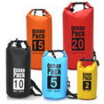 New Dry Sack Bag 2/5/10/15/20/30L Waterproof Bag Swimming Dry Wet Cloth Bag Sack for Kayak Canoeing
