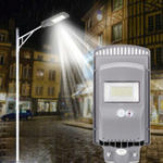 New 60W 120W 160W LED Solar Street Light PIR Motion Sensor Outdoor Garden Wall Lamp