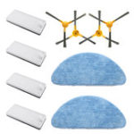 New Replacement Kit for NEATSVOR X500 Vacuum Cleaner Mop Cloth*2 Filters*4 Sponge*4 Side Brushes*2