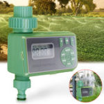 New Automatic Irrigation Timing Controller Timer Watering Device LCD Display For Family Garden Greenhouse Plants