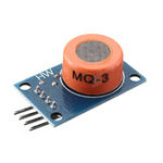 New LM393 MQ3 MQ-3 Sensor Ethanol Gas Analog Sensor TTL Output Module