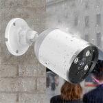 New Mini Panoramic HD 1080P Waterproof Outdoor IP Camera ONVIF Home Baby Monitors Camera Wireless Network Night Vision 2.4G WiFi